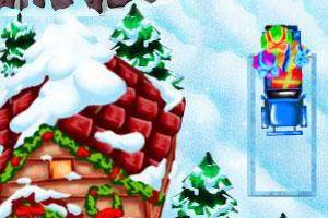 《雪地停汽车》游戏画面1