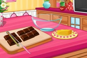 心形树莓巧克力蛋糕