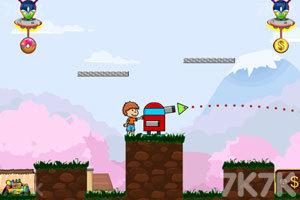 《炮打外星人》游戏画面5