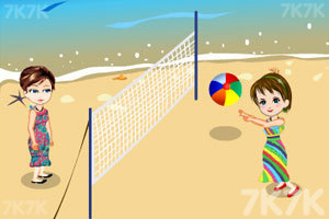 《麦丽莎宝贝的沙滩之旅》游戏画面3