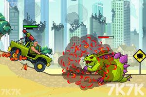 《武装越野车无敌版》游戏画面1