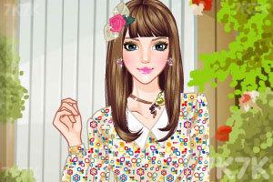 《美女换发型》游戏画面4