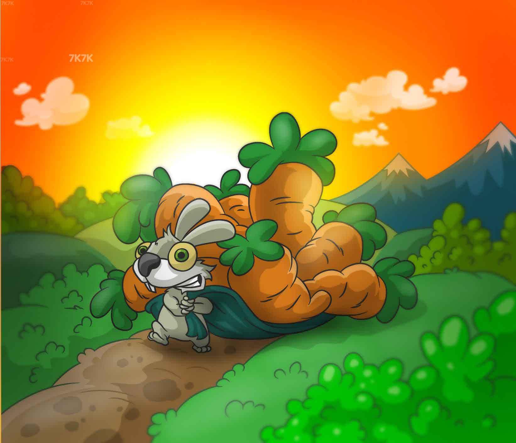 《兔老爹寻找胡萝卜》游戏画面1