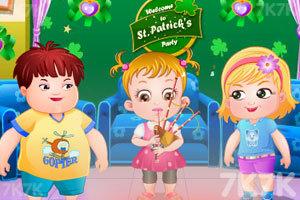 《可爱宝贝的圣帕特里克节》游戏画面2