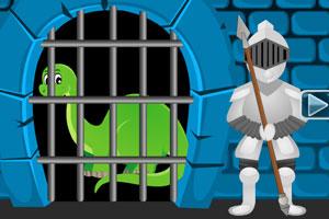 《恐龙城堡逃生》游戏画面1