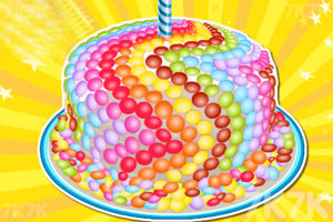 《制作糖果蛋糕》游戏画面4