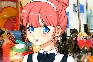 《甜甜的学生妹》游戏画面1