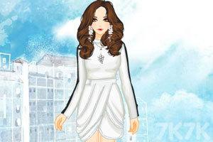 《冬日的一抹白色》游戏画面2