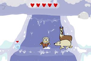《冰冻爱斯基摩人无敌版》游戏画面1