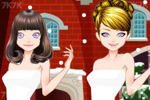 《圣诞舞会装扮》游戏画面2