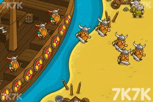 《海盗抢滩登陆战无敌版》游戏画面1