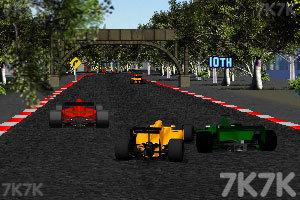 《F1方程式赛车》游戏画面2