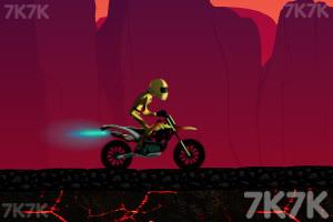 《火山摩托车特技赛》游戏画面3