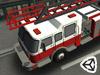 3D救护车路边停靠