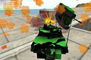 《疯狂驾驶之坦克联盟》截图1