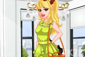 《时尚春季公主裙》游戏画面1