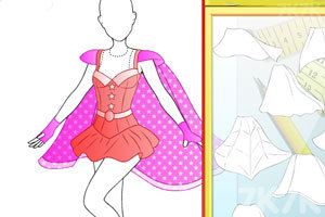 《时尚的超级女英雄》游戏画面2