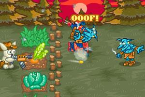 《农场守卫战无敌版》游戏画面1