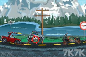 《愤怒的死亡赛车无敌版》游戏画面1