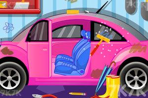 《清洁粉色小轿车3》截图1