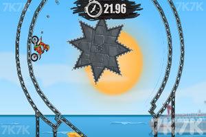 《摩托障碍挑战》游戏画面2