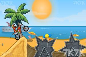 《摩托障碍挑战》游戏画面4