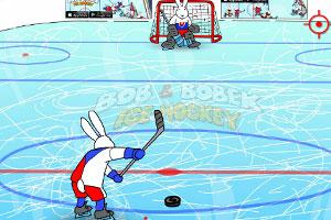 《冰球射门》游戏画面1