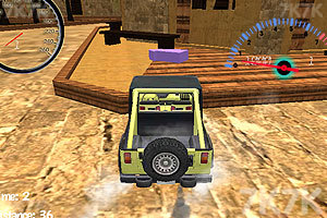 《3D吉普车停靠》游戏画面4