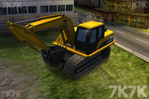 《3D挖掘機駕駛》截圖2