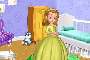 《安贝儿公主布置房间》游戏画面3