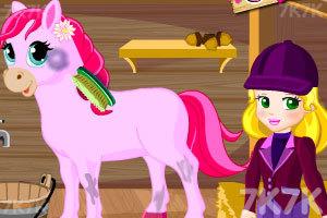 《朱丽叶公主解救小马》游戏画面2