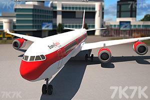 《3D客机停靠》游戏画面1