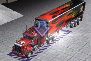 《重型卡车停车》截图1