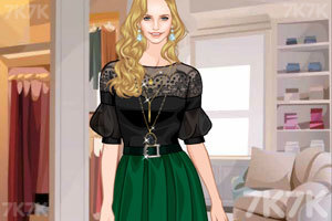 《黑色裙装》游戏画面1
