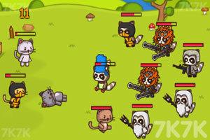 《猫咪背水一战》游戏画面3