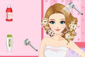 《漂亮新娘的新发型》游戏画面2