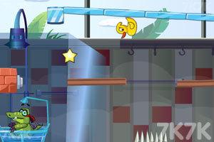 《小鳄鱼吃鸭子3》游戏画面2