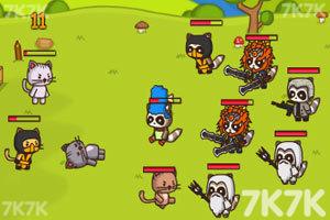 《猫咪背水一战无敌版》游戏画面3