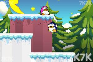 《企鹅爱吃鱼3新大陆无敌版》游戏画面4