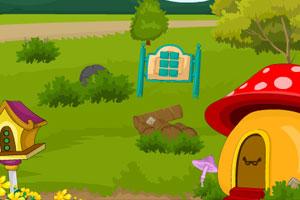 《帮小熊逃离蘑菇屋》游戏画面1
