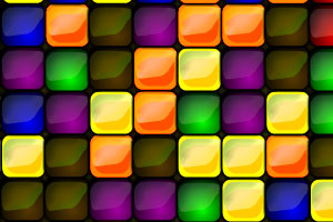 《彩色方块消除》游戏画面1