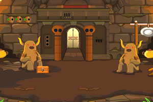 《野兽洞穴逃脱》游戏画面1
