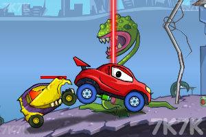 《大车吃小车4》游戏画面5