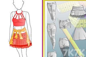 《时尚的滑板女孩》游戏画面2