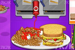 《老爹三明治店中文版》游戏画面8