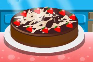 《夏天草莓蛋糕》游戏画面1