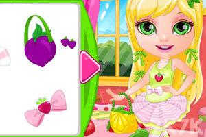《芭比宝贝变身水果公主》截图1