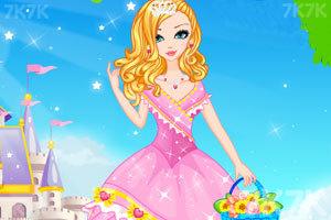 《公主的时尚发型》游戏画面1