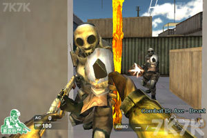 《M4A1黑骑士》游戏画面1