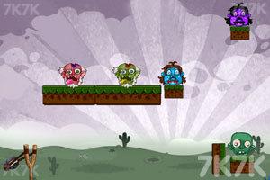 《愤怒的小忍者》游戏画面1